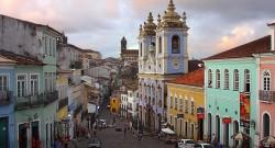 Centro histórico de Salvador da Baía, Brasil