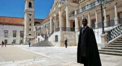 Estudante na Universidade de Coimbra