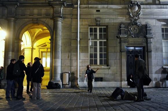 Foto LUSA: Universidade da Sorbonne. 20 de fevereiro de 2009. LUSA/EPA/YOAN VALAT
