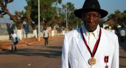 Augusto Katyopololo, 97 anos, o soba dos sobas, HENRIQUE BOTEQUILHA/LUSA