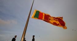 Foto Lusa -Militares da Força aérea do Sri Lanka. Sri Jayawardenapura Kotte.  EPA/M.A.PUSHPA KUMARA