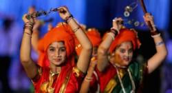 Foto: Festa de encerramento da III edição dos Jogos da Lusofonia 2014 realizada no Estádio Fatorda em Margão, Goa, Índia, 29 de Janeiro de 2014. GONÇALO LOBO PINHEIRO/LUSA