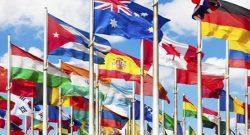 Nações-Unidas bandeiras