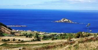 Ilhéu da Praia da Graciosa, ilha Graciosa, Açores, Portugal