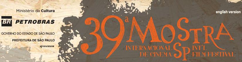 A 39.ª Mostra Internacional de Cinema em São Paulo
