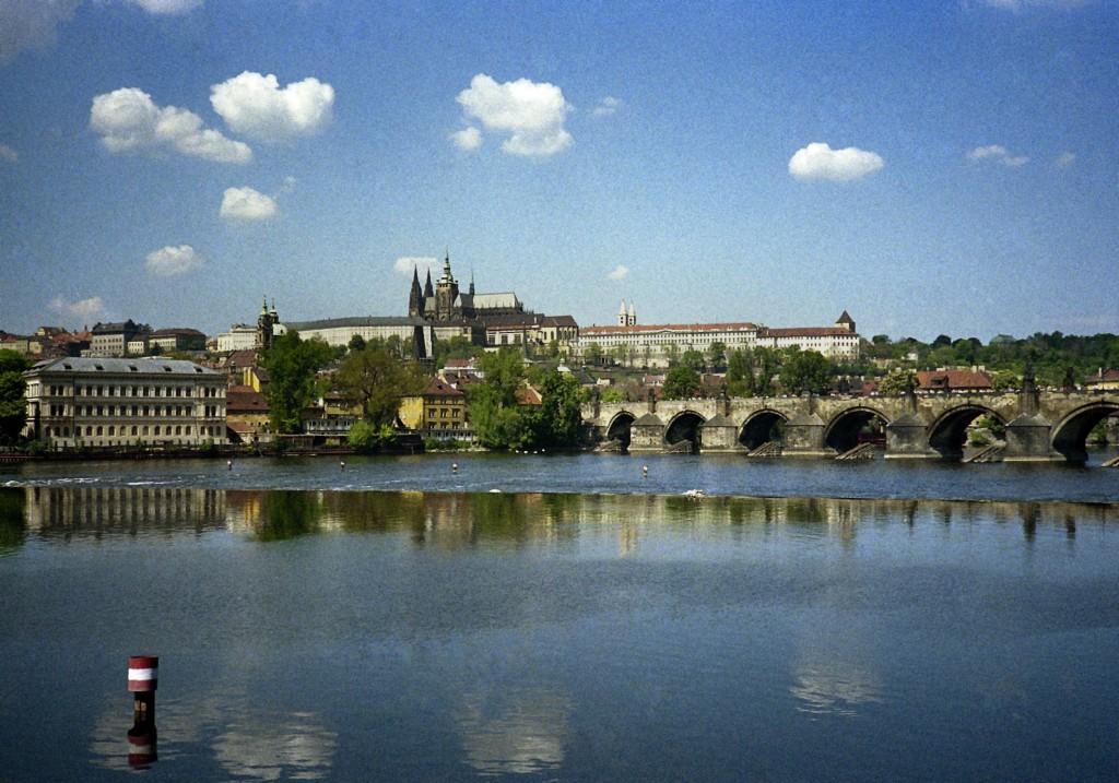 Vista da cidade de Praga, 06 Maio 1990. JOSÉ CARLOS VIEIRA/LUSA