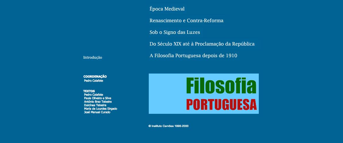Filosofia Portuguesa