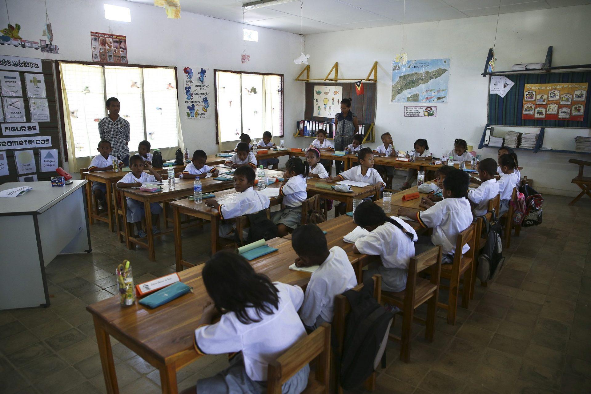 Escola de referência em Dili, Timor Leste, 25 de julho de 2014. PAULO NOVAIS/LUSA
