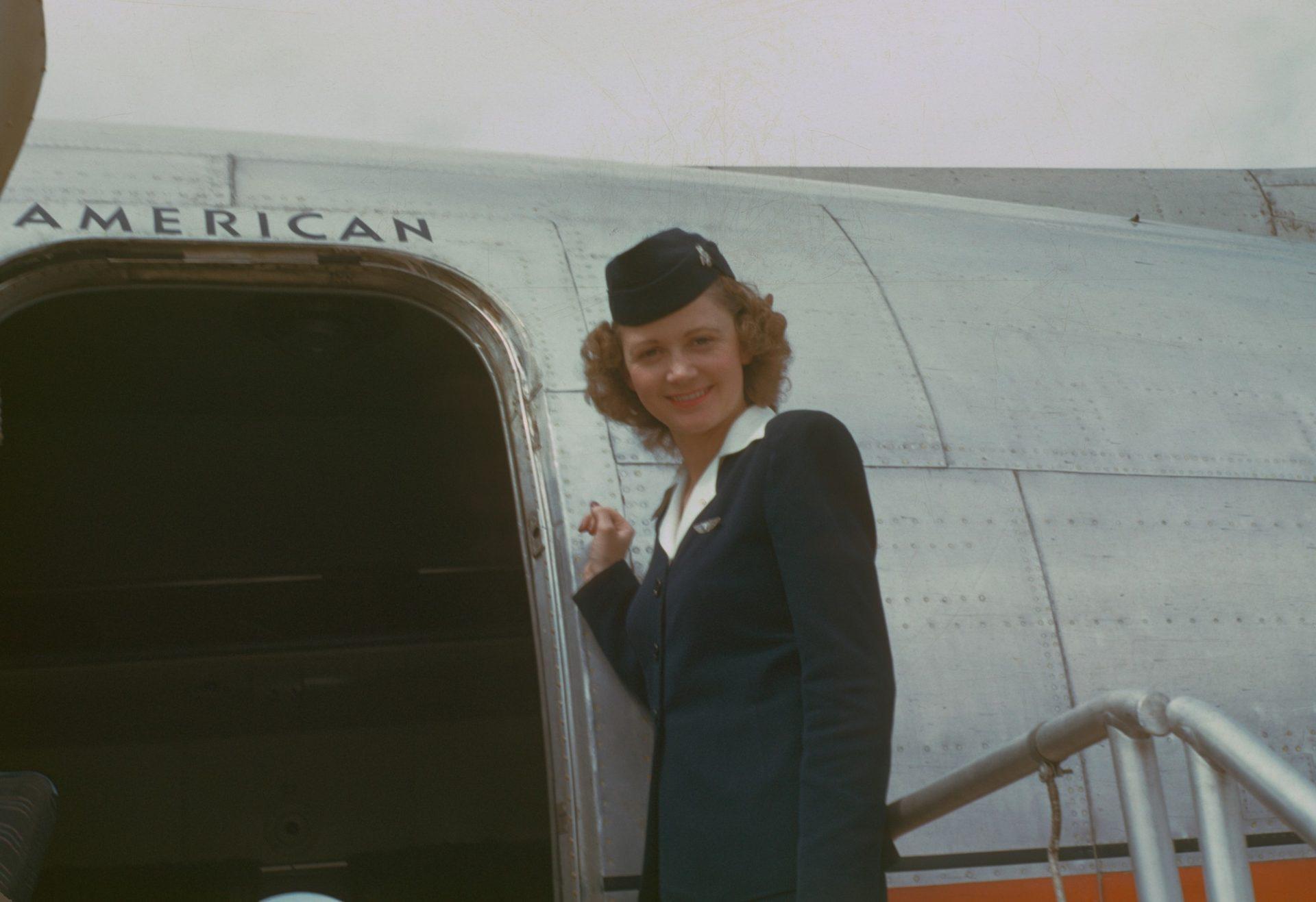 Hospedeira de bordo (1949–1950)