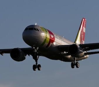 Um avião da TAP. Lisboa 18 de dezembro de 2014. JOSÉ SENA GOULÃO/LUSA