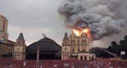 incendio no Museu da LP