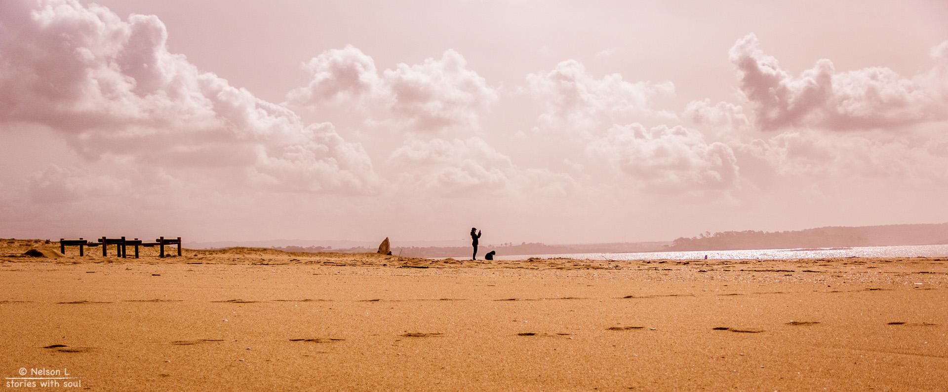 I'll just play here mom! ( #Portugal #Alentejo #lagoaSantoAndre