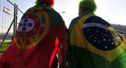 Durban(South Africa)Torcedores de diversas nacionalidades e sota