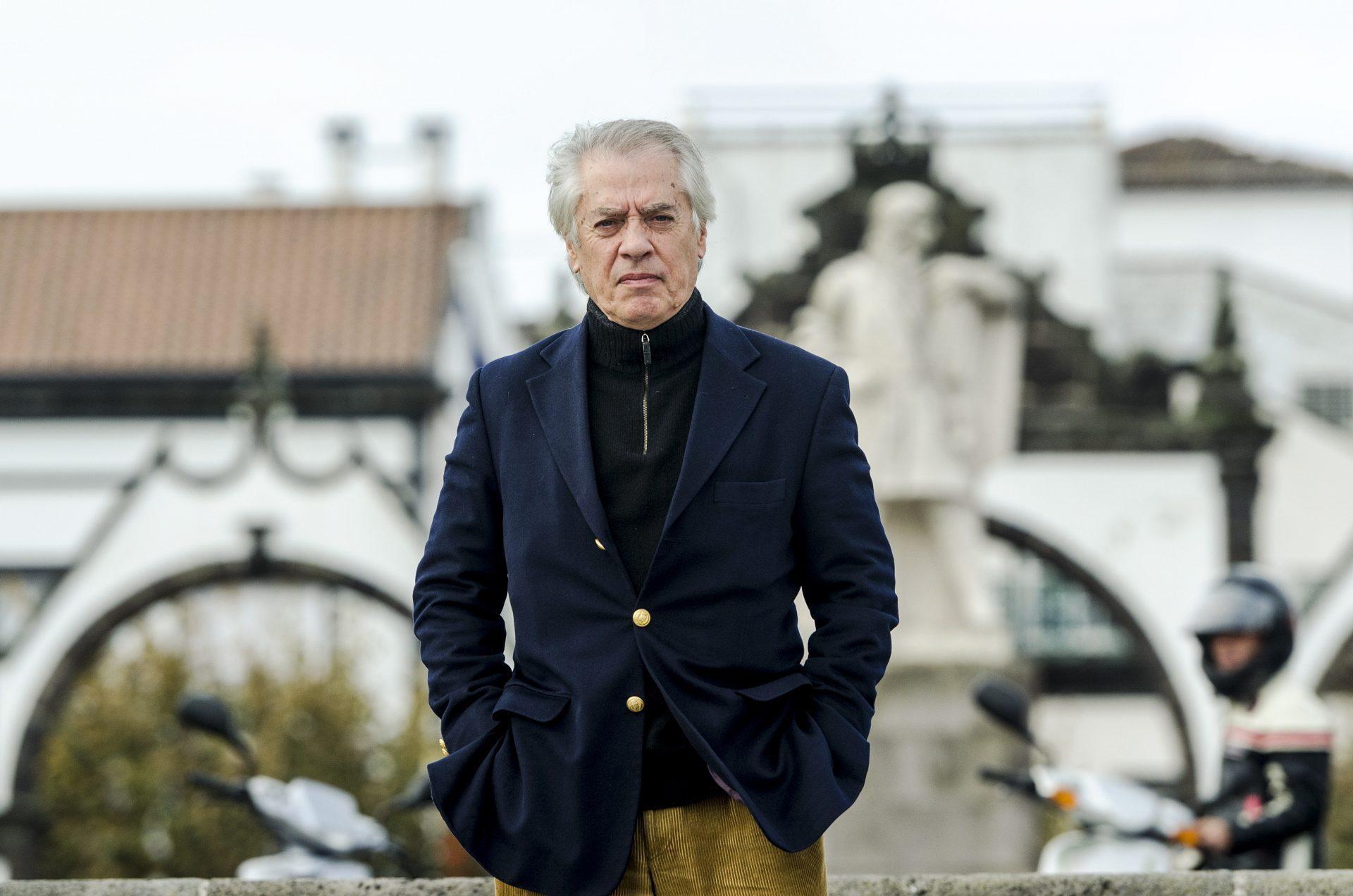 O Escritor João de Melo, Ponta Delgada, 24 de janeiro de 2014. EDUARDO COSTA/LUSA