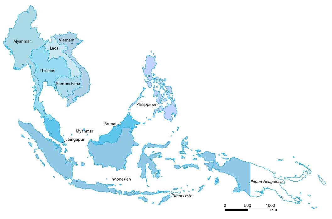 Países da ASEAN