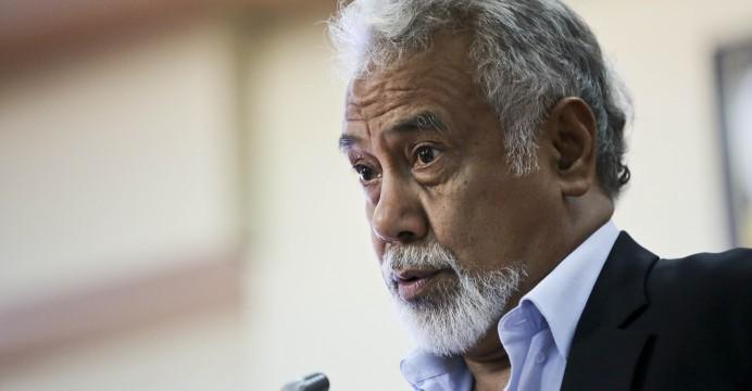 Xanana Gusmão,  Díli, Timor-Leste, 26 de fevereiro de 2016. BERNARDINO SOARES/LUSA