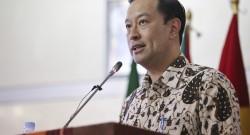 O ministro indonésio do Comércio, Thomas Lembong, discursa no 1.º Fórum Económico Global da CPLP, em Díli, Timor-Leste, 26 de fevereiro de 2016. BERNARDINO SOARES/LUSA