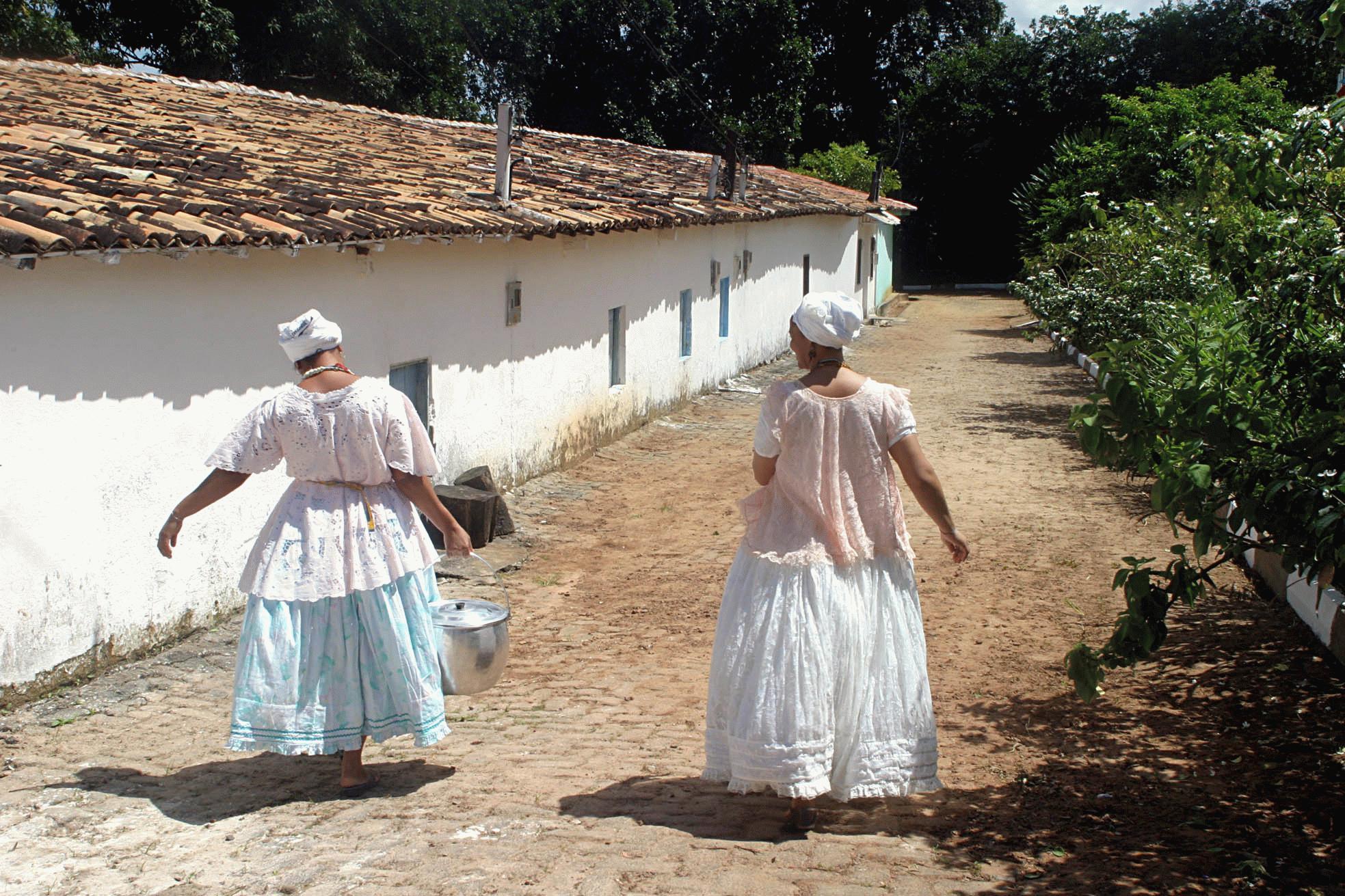 Barracão do Ilê Axé Opô Afonjá em Salvador, Bahia