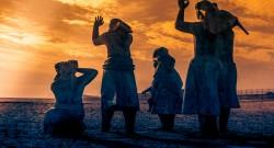 Viúvas de pescadores. Foto de Nelson