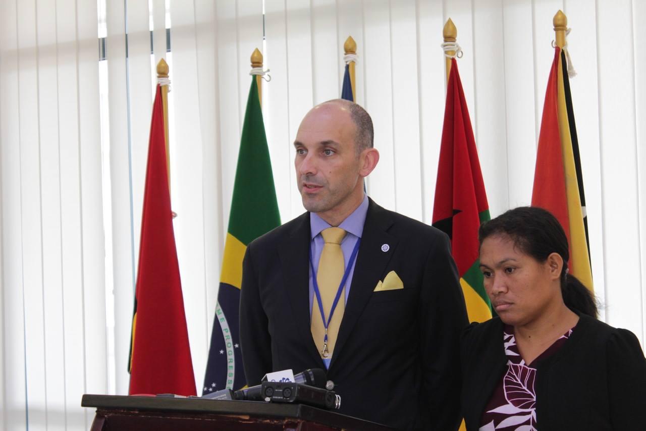 Conferência de Impresnsa da XXXI Reunião dos Pontos Focais de Cooperação da CPLP - Díli, 21 de julho de 2015
