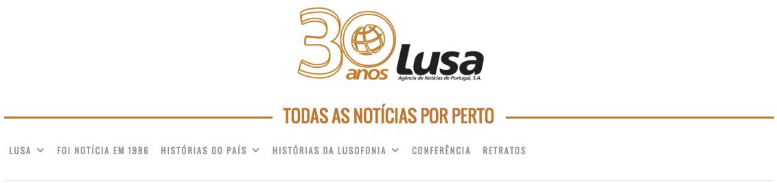 LUSA 30 anos