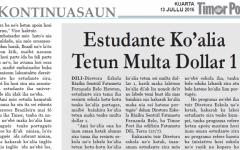 """Timor-Leste: """"Quem não souber falar Português é melhor estar calado"""", diz diretora de uma Escola Básica"""