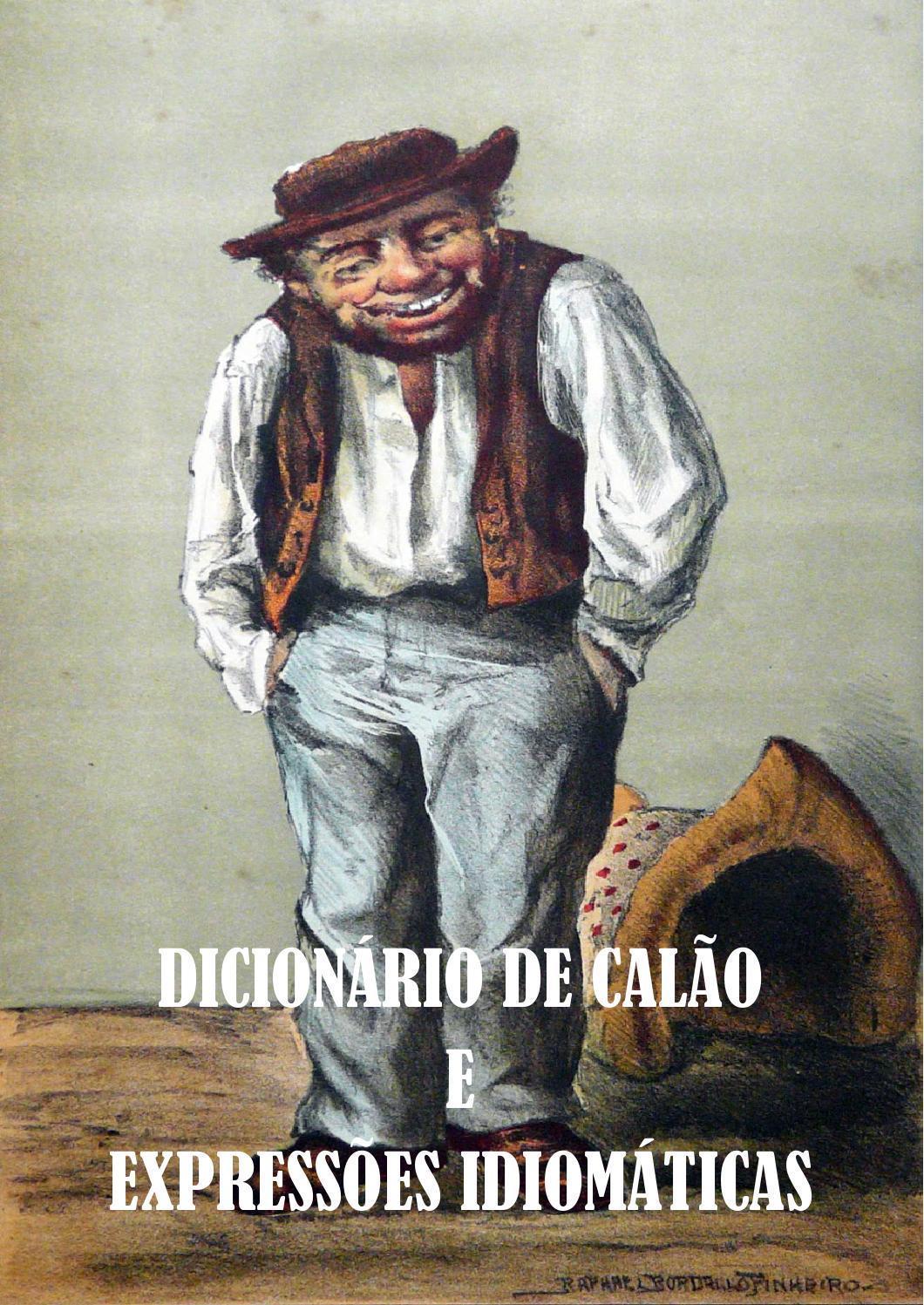 dicionário do calão
