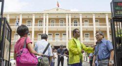 As eleições para o Conselho das Comunidades tiveram um número recorde de recenseados, cerca de 15.000. Macau, China, 6 de setembro de 2015. ANTONIO SANMARFUL/LUSA