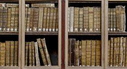 Estantes com livros antigos na Academia das Ciências de Lisboa, 31 de janeiro de 2013. JOAO RELVAS/LUSA
