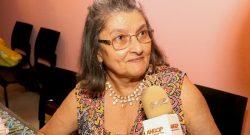 Cremilda de Lima,  detentora do Prémio Nacional da Cultura e Artes 2016, na categoria de Literatura.