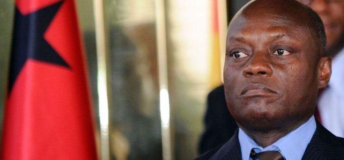 Presidente da Guiné-Bissau, Jose Mario Vaz (AFP Photo/SIA KAMBOU)