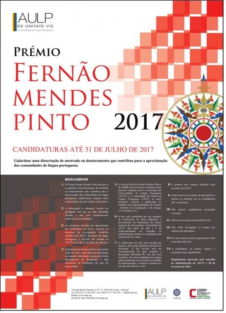 cartaz premio Fernao mendes pinto