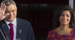 Foto LUSA: O Presidente de Cabo Verde, Jorge Carlos Fonseca e a esposa Lígia Fonseca EPA/MICHAEL REYNOLDS
