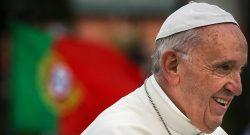 O papa francisco em Fátima, Leiria, Portugal, 12 de maio de 2017. MARIO CRUZ/LUSA