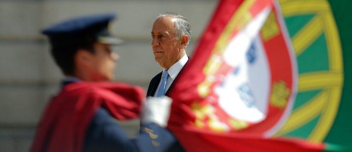 O Presidente da República, Marcelo Rebelo de Sousa participa nas comemorações do 10 de Junho - Dia de Portugal, de Camões e das Comunidades Portuguesas - na Avenida dos Aliados, Porto, 9 de junho de 2017  JOSÉ COELHO/LUSA