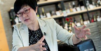 A administradora do Instituto de Promoção do Comércio e do Investimento de Macau (IPIM), Glória Batalha. CARMO CORREIA/LUSA