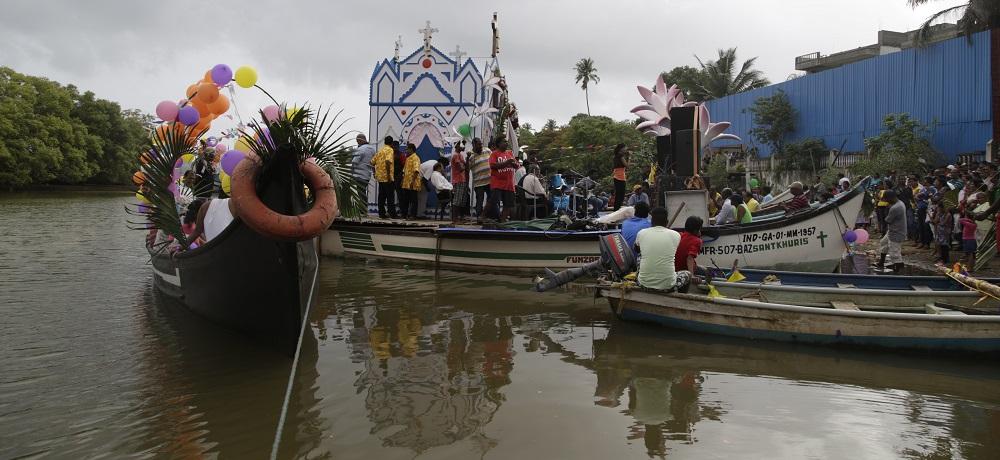 Festividades de S. Pedro em Goa.