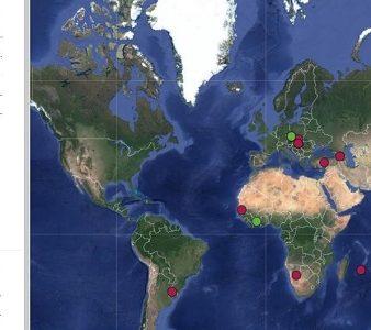 paises observadores associados