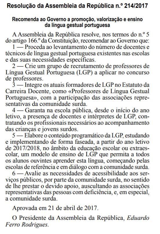 lingua gestual portuguesa