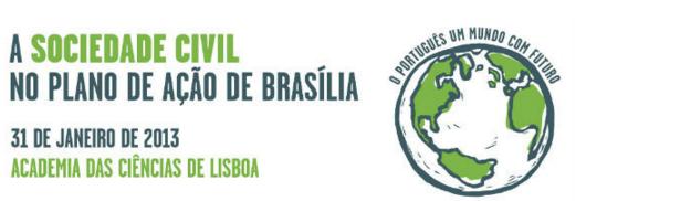 """Conferência """"A Sociedade Civil no Plano de Ação de Brasília"""""""