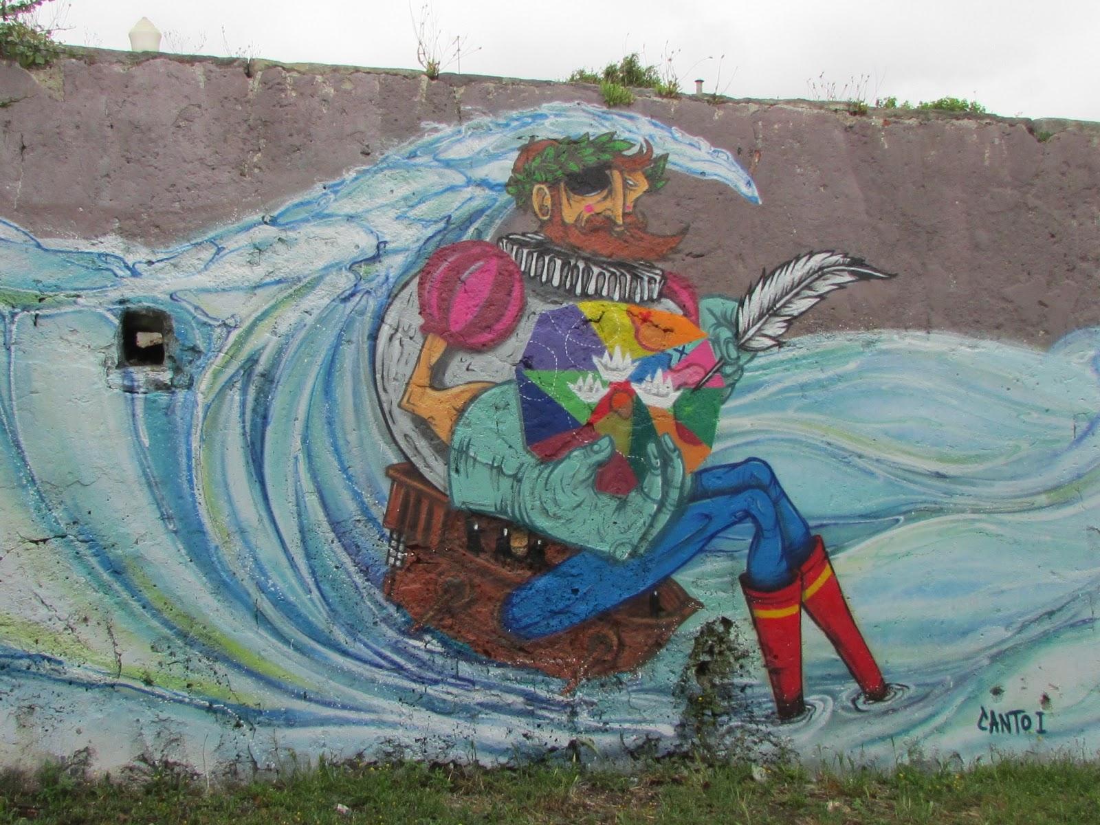 """""""Os Lusíadas"""" vão ter um mural em Lisboa"""