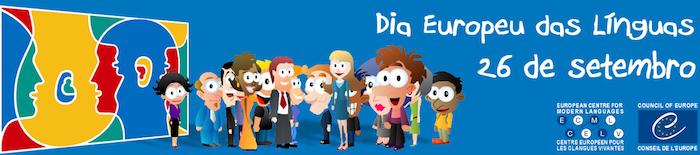 O Dia Europeu das Línguas comemora-se a 26/09