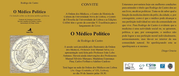 Rodrigo de Castro, O Médico Político