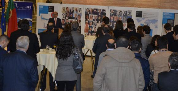 Exposição sobre Língua Portuguesa no Parlamento Europeu