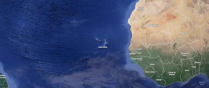 Extensão da plataforma continental de seis países oeste-africanos