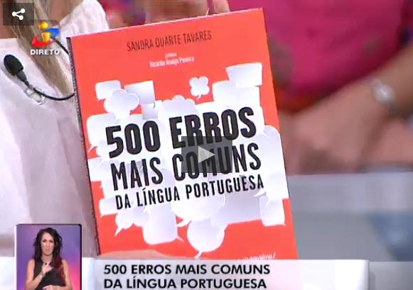 «500 Erros Mais Comuns da Língua Portuguesa»