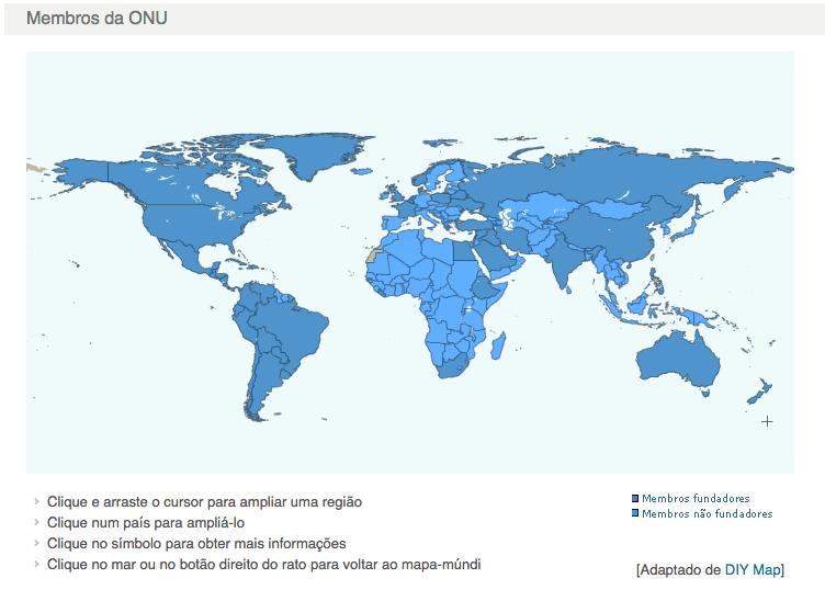 Estatísticas - Nações Unidas