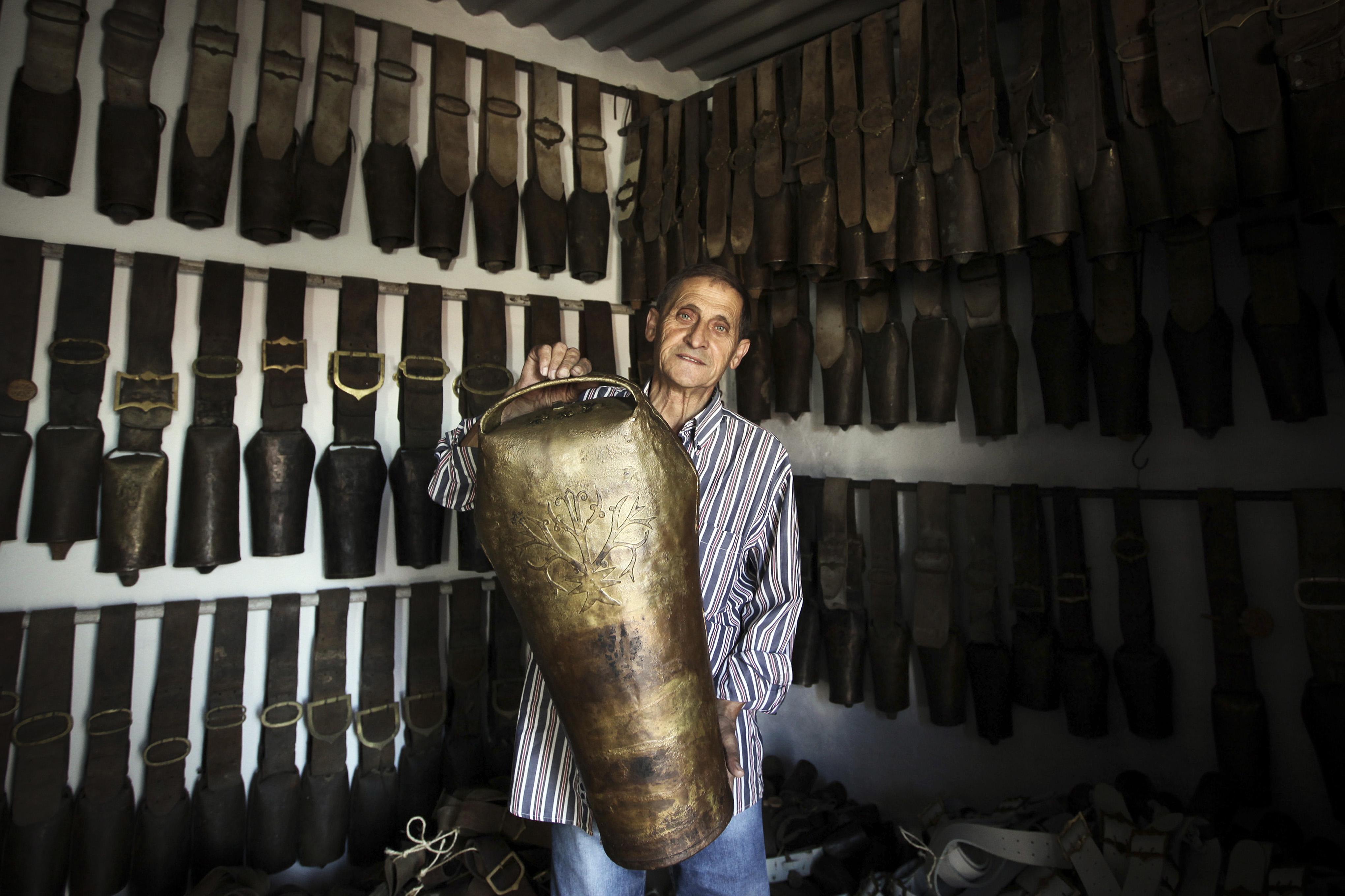Os chocalhos são candidatos a património imaterial da humanidade da UNESCO