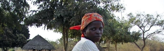 Filomena Maio. Moçambique, 25 de outubro de 2015. . ANDRÉ CATUEIRA/LUSA