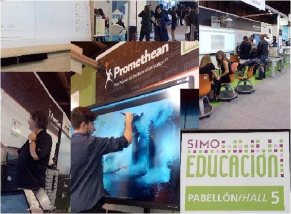 O OLP na Simo Educação, em Madrid
